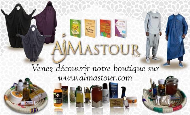 Zoom sur Al Mastour la Boutique du musulman