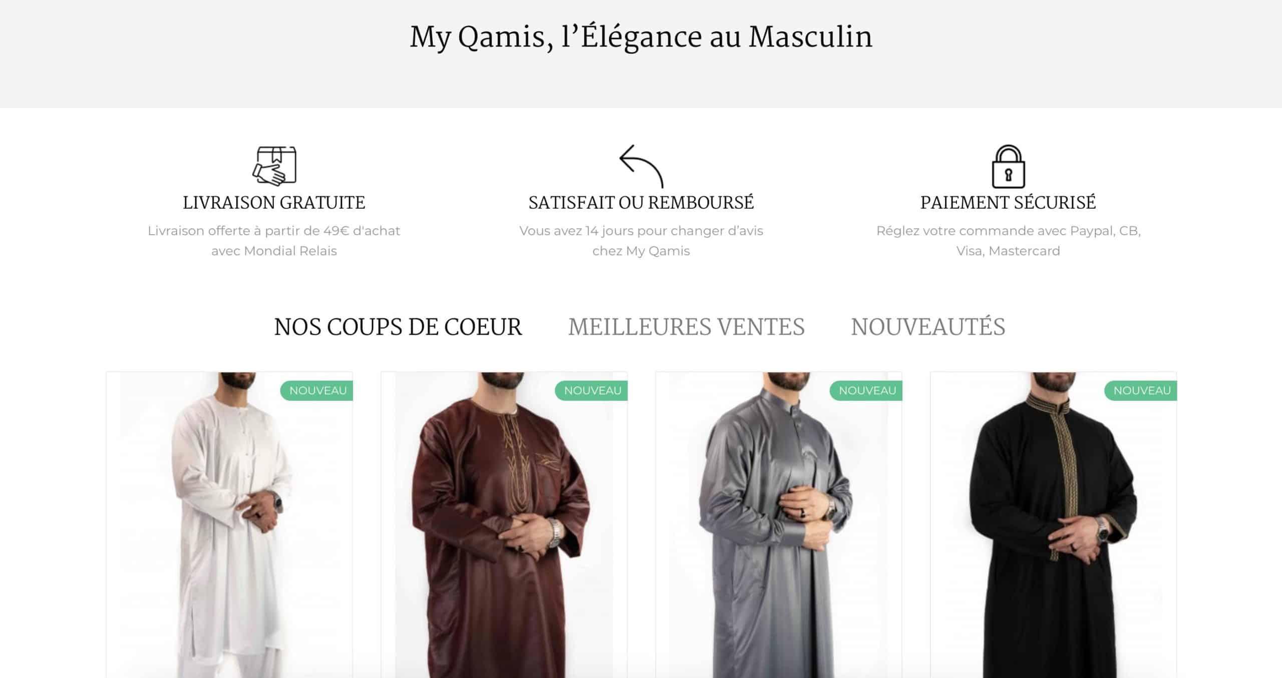 À la découverte de la boutique My Qamis